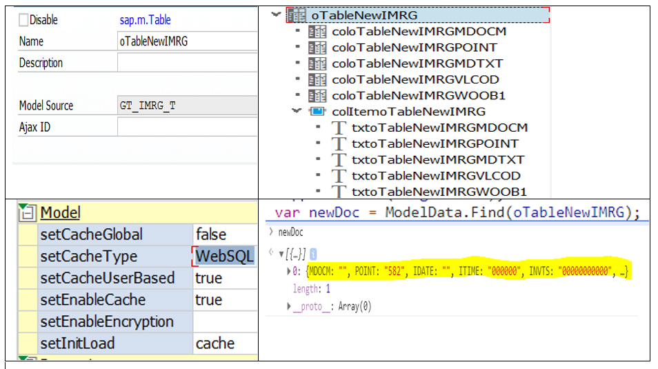 Table data is not available in sap m Table - Neptune Software Community