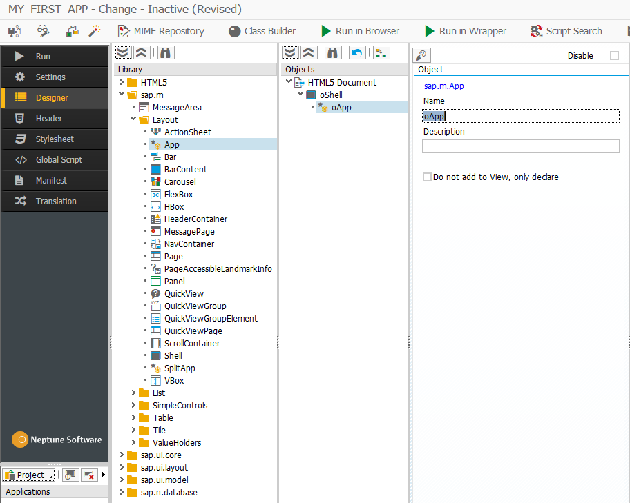 Develop your first SAPUI5 app - Neptune Software Community