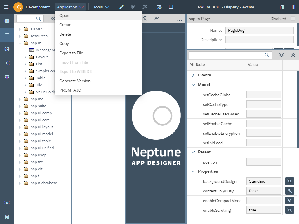 How to Use The Neptune App Designer - Neptune Software Community