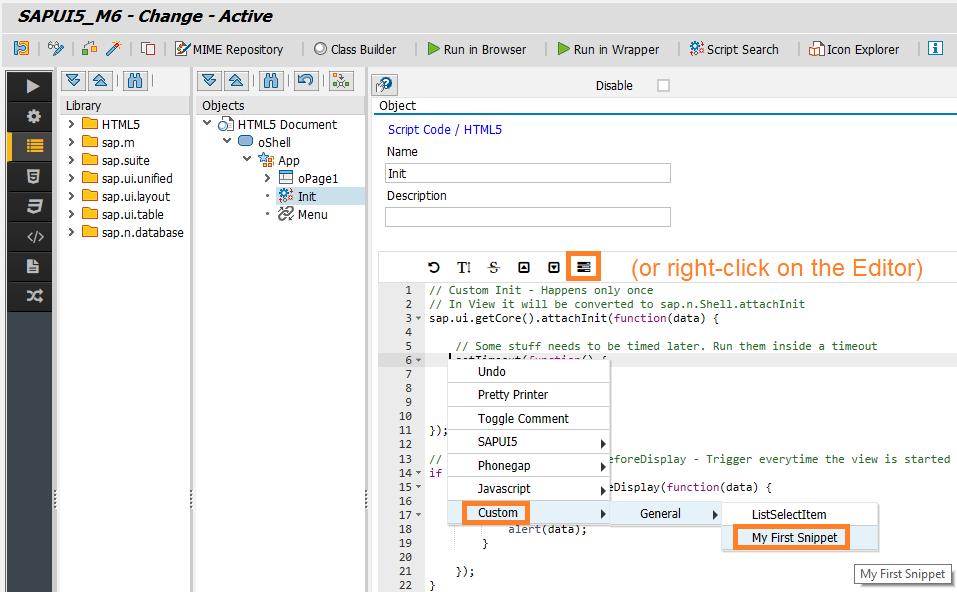 JavaScript in Neptune Application Designer - Neptune
