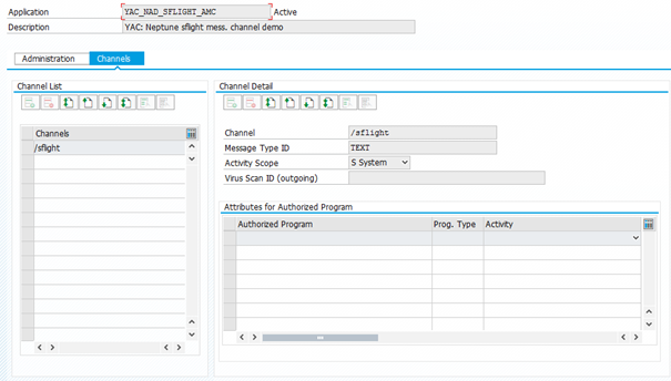 Move from pull to push methodology via ABAP Channels and