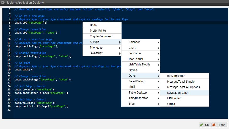 JavaScript in Neptune Application Designer - Neptune Software Community