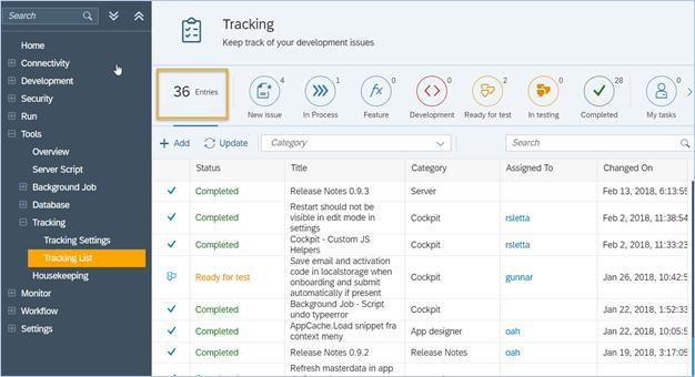 Tracking - Neptune Software Community