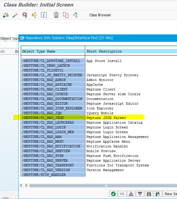 How to access ABAP dynamic internal table data in NAD as JSON