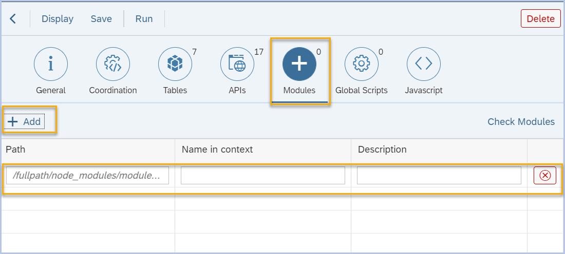 Install, add and use external npm module in server script - Neptune