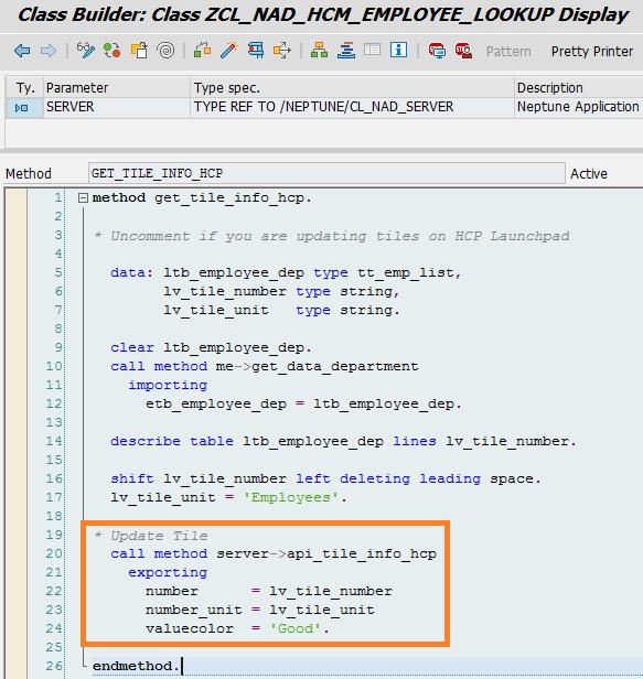 Setup Dynamic Tile info in SAP Fiori Launchpad - Neptune