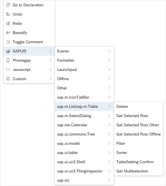sap m List/sap m Table - Neptune Software Community