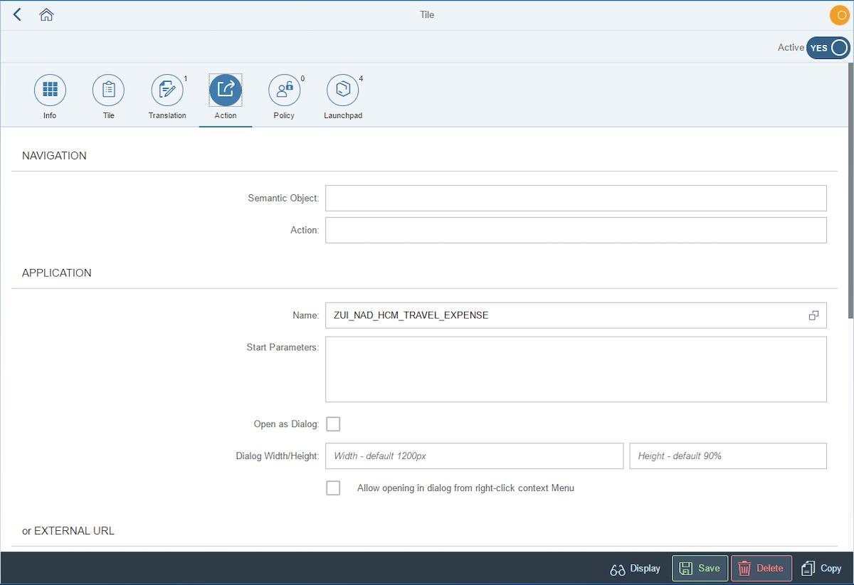 Creating Tiles - Neptune Software Community